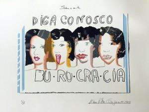 Obra Anna Bella Geiger Clube Hall 9a Edição