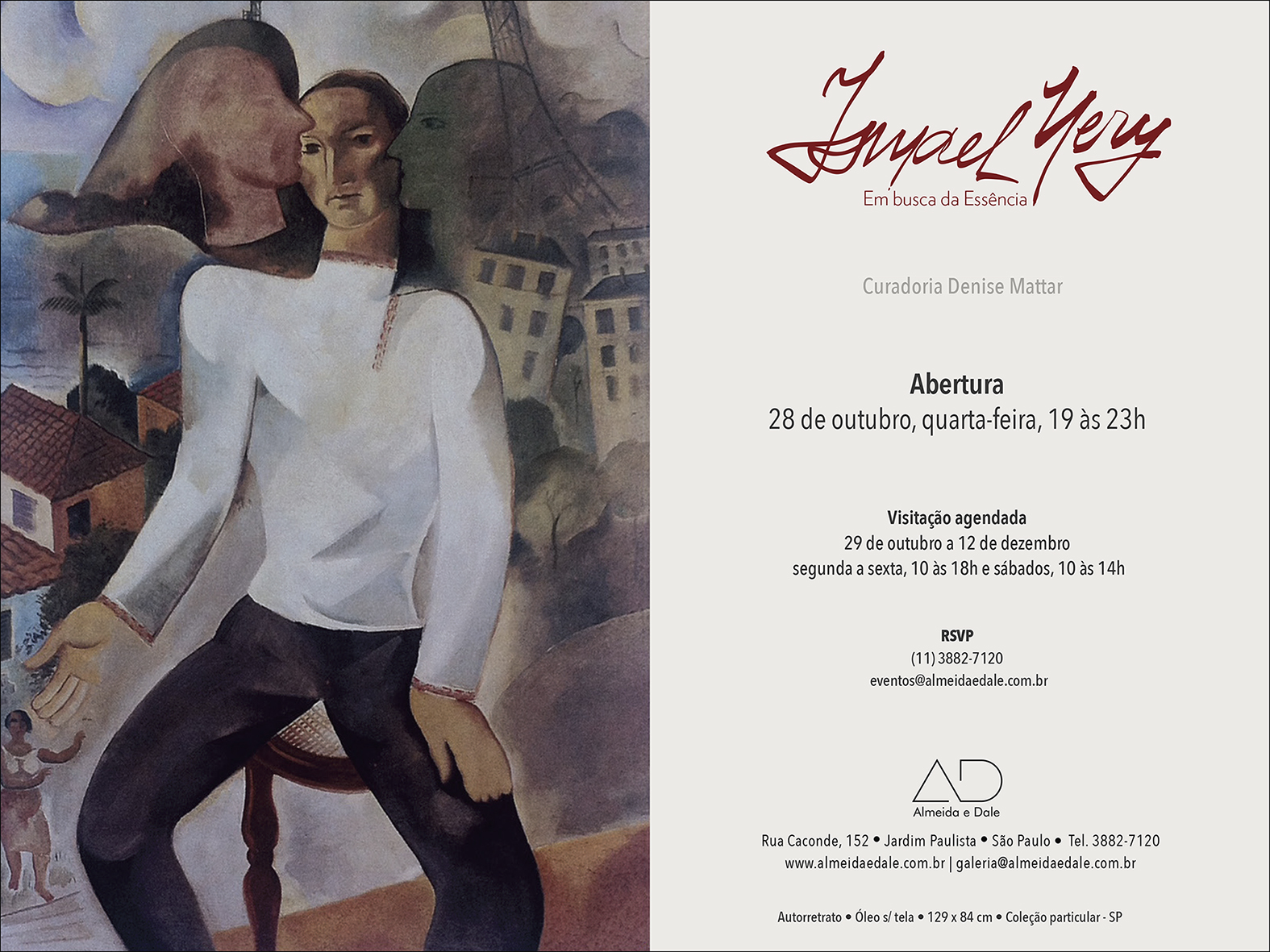 Ismael Nery Save the date.indd